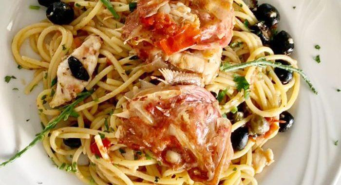 Regina Margherita - Sapghetti allo Scorfano